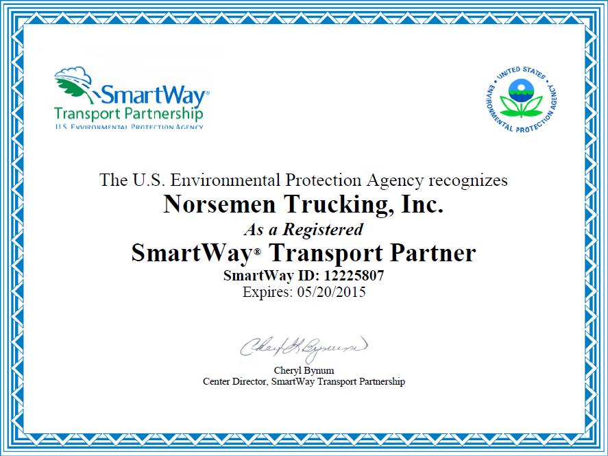 Norsemen certificate